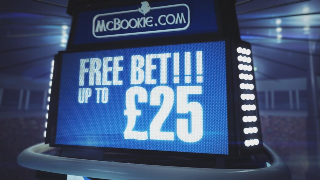 McBookie Free £25 Bet