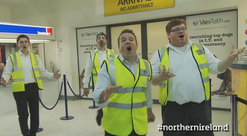 NITB / Christmas Flash Mob
