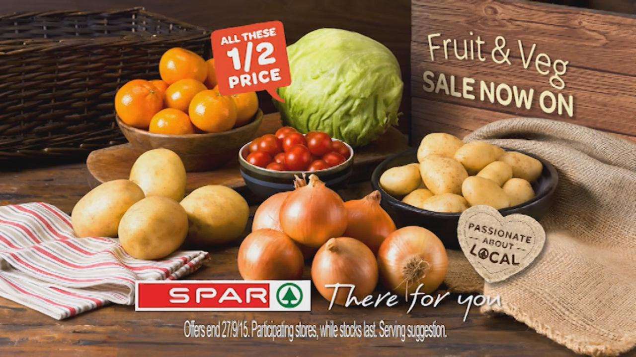 Spar Fruit & Veg Sale