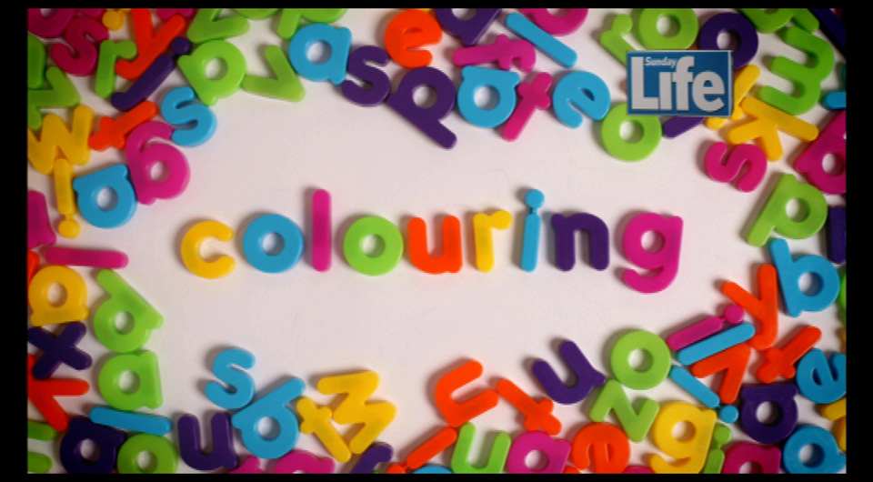 Sunday Life - Colouring Competition